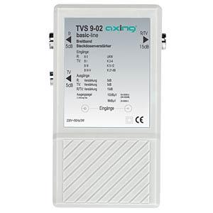 Breitband-Steckdosenverstärker AXING TVS00902