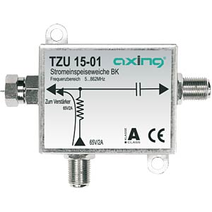 Current feed switch for broadband cable amplifier AXING TZU01501