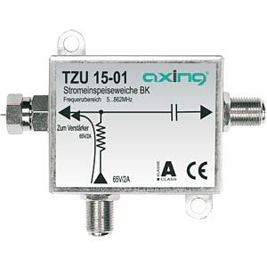 Stromeinspeiseweiche für BK-Verstärker AXING TZU01501