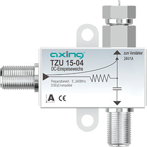 TZU 15-04 - Stromeinspeiseweiche für SAT-Verstärker