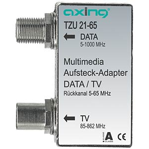Multimedia plug-on adapter AXING TZU02165