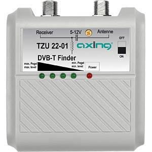 Pegelmessgerät, DVB-T, LED Anzeige, Signalton AXING TZU2201