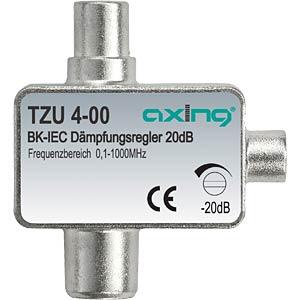 regelbarer Dämpfungsregler IEC Anschlüsse AXING TZU00400