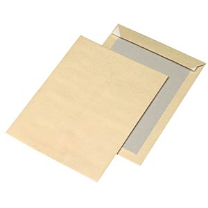 Envelope with pasteboard C4 FREI