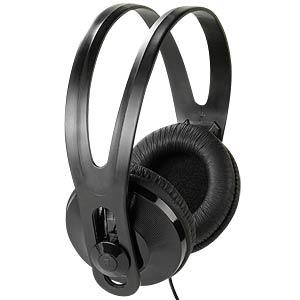 Stereo TV Headphones, 5 m cable, black VIVANCO 36503