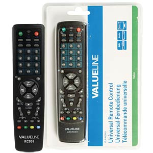 Universal remote control 10 in 1 VALUELINE VLR-RC001