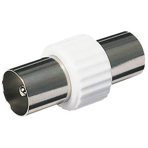 Coaxial connector, plug/plug FREI