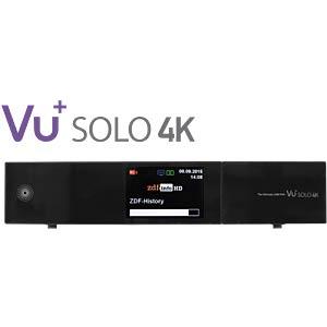 Sat-Receiver UHD-2x DVB-S2 + 1x DVB-C/T VU+ 12800-563