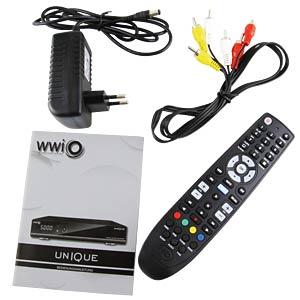DVB-S2 Receiver / Linux-Betriebssystem WWIO WUNIQ011AWB