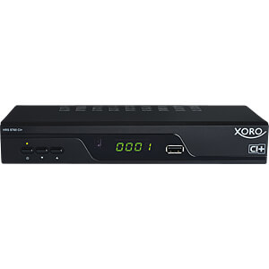 Receiver, SAT, DVB-S2, HD+, CI+, PVR, XORO SAT100519