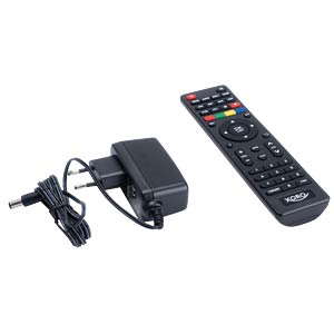 Receiver, DVB-T2, full HD, PVR, freenet TV XORO SAT100571