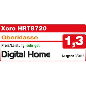 DVB-T2 Receiver mit PVR (freenet TV) XORO SAT100499