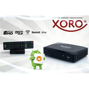 Android Media Player 4K (3840 x 2160 Pixel) XORO XOR400605