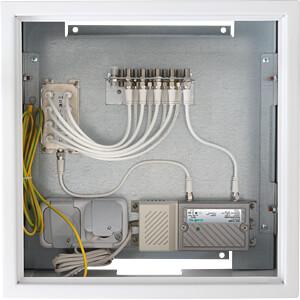CATV-Montageschrank max. 8 Teilnehmer AXING BZU04008
