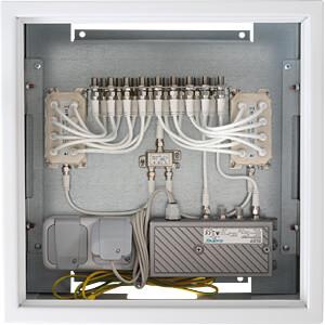 BZU 40-16 - CATV-Montageschrank max. 16 Teilnehmer
