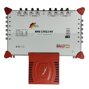 17-in-12 multi-switch with power supply BAUCKHAGE BMS17012 NT