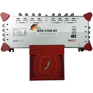 17-in-8 multi-switch with power supply BAUCKHAGE BMS 1708NT