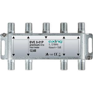 Verteiler, 5-1218 MHz, 8-fach, 10,2 - 12,3 dB AXING BVE00801P