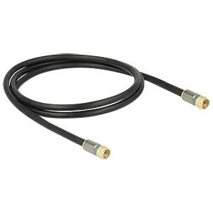 Kabel F Stecker > F Stecker RG-6/U 1,0 m DELOCK 88941