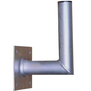 Aluminium wall bracket 15cm, for satellite dish FREI