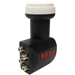 LNB, Quad, 40 mm, UHD 3D geeignet FTE MAXIMAL 0400303