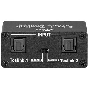Toslink Audio Switch GOOBAY 67766
