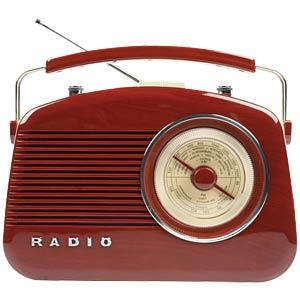 Retro-Radio, braun KÖNIG HAV-TR710BR