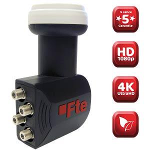 LNB, Quattro, 40 mm, UHD 3D geeignet FTE MAXIMAL 0400304