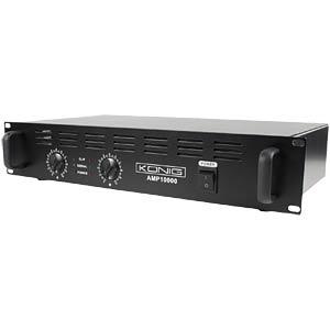Stereo PA-Verstärker 2x 500 W KÖNIG PA-AMP10000-KN