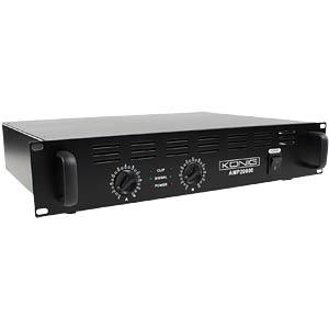 Stereo PA amplifier 2x 1000 W KÖNIG PA-AMP20000-KN