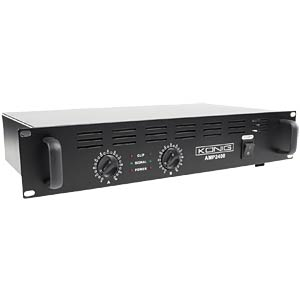 Stereo PA amplifier 2x 120 W KÖNIG PA-AMP2400-KN