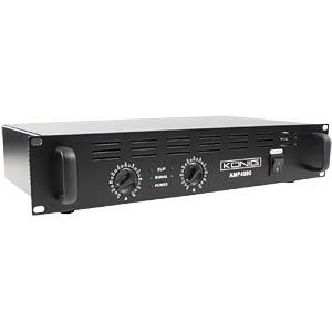 Stereo PA amplifier 2x 240 W KÖNIG PA-AMP4800-KN