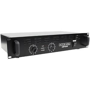 Stereo PA amplifier 2x 300 W KÖNIG PA-AMP6000-KN