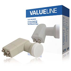 LNB, Quad, 40 mm VALUELINE VLS-LNB-QD10