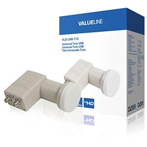 Universal twin LNB 0.3 dB VALUELINE VLS-LNB-T10