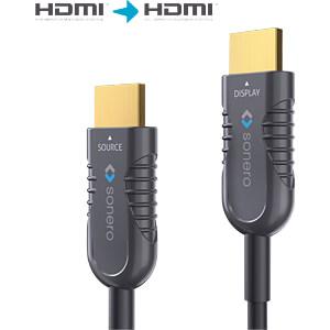 Aktives HDMI 4K AOC Extender Kabel - 10m SONERO X-AOC200-100