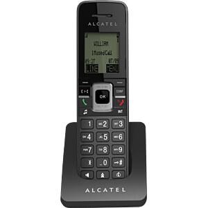 VoIP DECT Telefon, schnurlos, schwarz ALCATEL HOME & BUSINESS ATL1417630