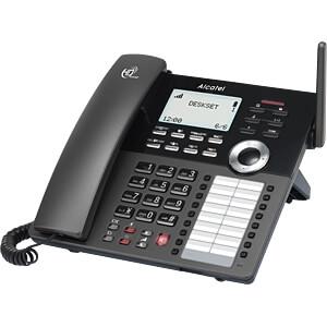 VoIP DECT Tischtelefon, schwarz ALCATEL HOME & BUSINESS ATL1417210