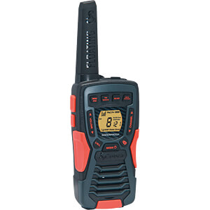 PMR zender/ontvanger, zwart/oranje COBRA AM1045