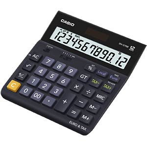 Casio desk calculator CASIO DH-12TER