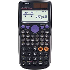 Scientific school calculator CASIO FX-85DE PLUS