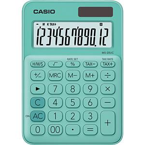 CASIO MS20UC-GN - Casio Tischrechner