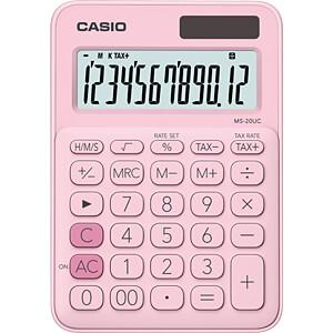 CASIO MS20UC-PK - Casio Tischrechner