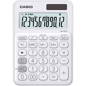 CASIO MS20UC-WE - Casio Tischrechner