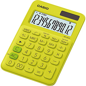 CASIO MS20UC-YG - Casio Tischrechner