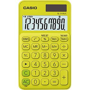 CASIO SL310UC-YG - Casio Taschenrechner