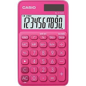 CASIO SL310UC-RD - Casio Taschenrechner