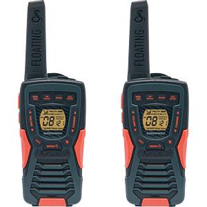 PMR Funkgerät, schwarz/orange COBRA AM1045