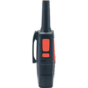 PMR 8 km Range 8-Channel Black/Orange COBRA AM645