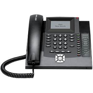 VoIP Telefon, schnurgebunden, schwarz AUERSWALD 90067